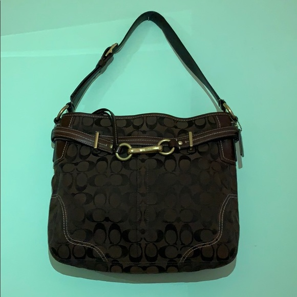 Coach Brown Medium Handbag
